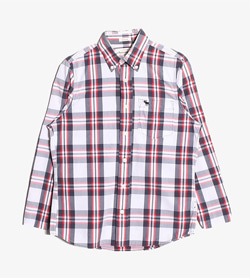ABERCROMBIE&FITCH - 키즈 아베크롬비 체크 셔츠  Kids XL / Color - Check