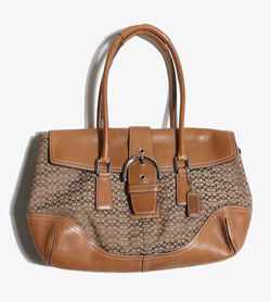 COACH - 코치 가죽 토드백   Women Free / Color - Brown