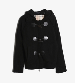 BURBERRY - 버버리 울 더플 자켓   Women M / Color - Black