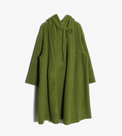 TABLO NOIR - 타블로 노리 울 롱 코트   Made In Italy  Women M / Color - Green