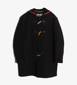 SCHOTT - 쇼트 Nyc 울 더플 코트   Made In Usa  Man M / Color - Black