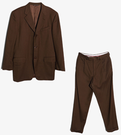 CANALI - 까날리 울 투피스 셋업   Made In Italy  Man L / Color - Brown