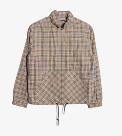 BURBERRY - 버버리 코튼 아노락   Women S(150) / Color - Check