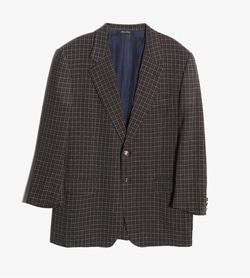 LANVIN - 랑방 울 체크 자켓   Made In Italy  Man L / Color - Check