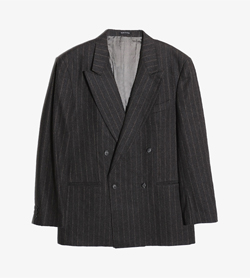 LASSON -  울 더블 자켓   Made In Italy  Man L / Color - Charcoal