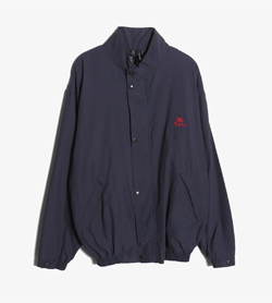 BURBERRY - 버버리 폴리 블루종 자켓   Made In England  Man L / Color - Navy