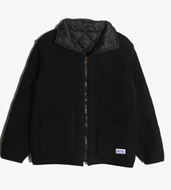 ARMEN -  폴리 블루종 점퍼   Made In France  Man M / Color - Black