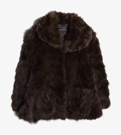 FUR ATELIER LEI -  모피 코트   Women L / Color - Brown