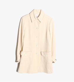 MAX&CO - 막스앤코 울 나일론 맥 코트   Made In Poland  Women M / Color - Beige