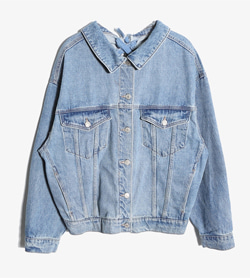 JPN -  데님 리메이크 자켓   Women FREE / Color - Denim