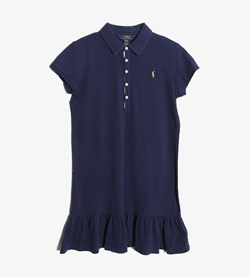 POLO BY RALPH LAUREN - 폴로 랄프로렌 코튼 PK원피스   Women XL(16) / Color - Navy