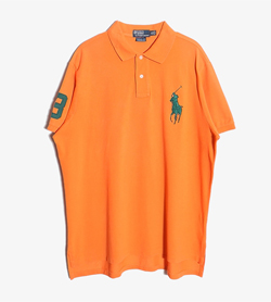 POLO BY RALPH LAUREN - 폴로 랄프로렌 코튼 PK 티셔츠   Man XL / Color - Orange