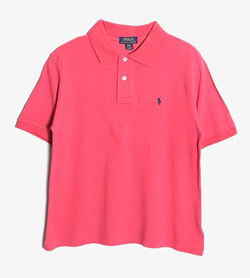 POLO BY RALPH LAUREN - 폴로 랄프로렌 코튼 PK 티셔츠   Women L / Color - Pink