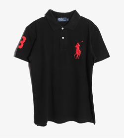 POLO BY RALPH LAUREN - 폴로 랄프로렌 코튼 PK 티셔츠   Man L / Color - Black