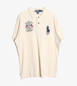 POLO BY RALPH LAUREN - 폴로 랄프로렌 코튼 Pk티셔츠   Man L / Color - Ivory