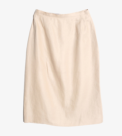 MAXMARA - 막스마라 린넨 스커트   Made In Italy  Women 26 / Color - Beige