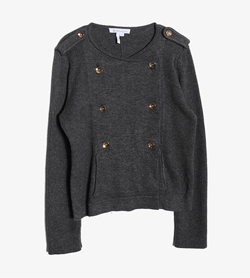 BCBG ENERATION -  울 폴리 더블 자켓   Women M / Color - Charcoal