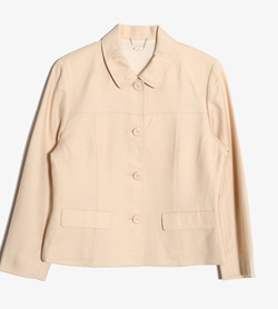 COURREGES - 쿠레쥬 울 블레이져   Women L / Color - Beige