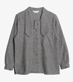 MODE RIE -  울 앙고라 체크 자켓   Women M / Color - Check