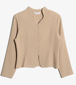 EVANCE - 에반스 폴리 자켓   Women M / Color - Beige