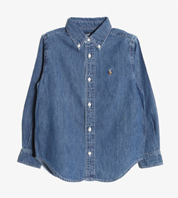 RALPH LAUREN - 랄프로렌 데님 셔츠   Kids 120 / Color - Denim