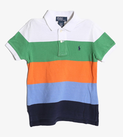 POLO BY RALPH LAUREN - 폴로 랄프로렌 코튼 PK티셔츠   Kids 3/3T / Color - Stripe