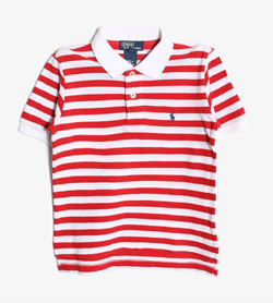 POLO BY RALPH LAUREN - 폴로 랄프로렌 코튼 PK티셔츠   Kids 4 / Color - Stripe