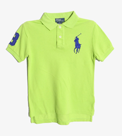 POLO BY RALPH LAUREN - 폴로 랄프로렌 코튼 PK티셔츠   Kids 7 / Color - Green