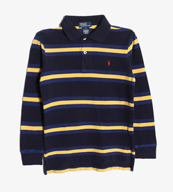 POLO BY RALPH LAUREN - 폴로 랄프로렌 코튼 PK티셔츠   Kids S / Color - Stripe