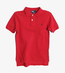 POLO BY RALPH LAUREN - 폴로 랄프로렌 코튼 PK티셔츠   Kids 7 / Color - Red