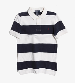 POLO BY RALPH LAUREN - 폴로 랄프로렌 코튼 PK티셔츠   Kids M / Color - Stripe