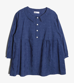 NE-NET -  코튼 폴리 셔츠   Women L / Color - Navy