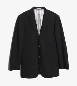 BURBERRY BLACK LABEL - 버버리 블랙라벨 울 블레이져   Man XL / Color - Black