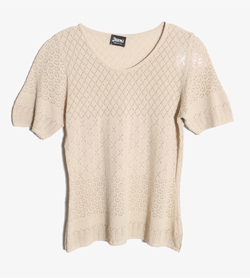HERNO - 에르노 코튼 니트   Made In Italy  Women S / Color - Beige