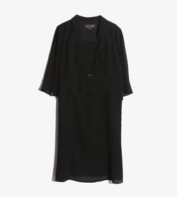 IGIN -  폴리 원피스   Women L / Color - Black
