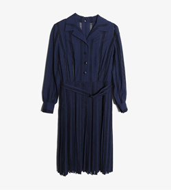 JPN -  코튼 랩 원피스   Women M / Color - Navy