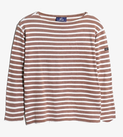 SAINT JAMES - 세인트 제임스 코튼 보더 티셔츠   Made In France  Women M / Color - Stripe