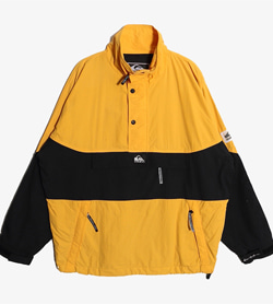 QUIKSILVER - 퀵실버 나일론 아노락   Man S / Color - Yellow
