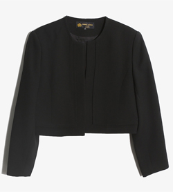 HARDY AMIES BOUTIQUE - 하디 에이미스 폴리 크롭 자켓   Women S / Color - Black