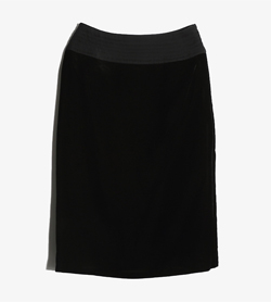 SHOWA DRESS -  큐프라 벨벳 스커트   Women 27 / Color - Black