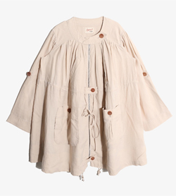 FLOWER - 플라워 린넨 원피스   Women L / Color - Beige
