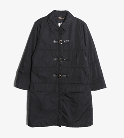 LES COPAINS - 레코뱅 폴리 롱 점퍼   Made In Italy  Women L / Color - Black