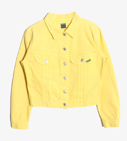 UNITED COLORS OF BENETTON - 베네통 코튼 자켓   Made In Italy  Women M / Color - Yellow