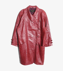 ETEMA FURS -  양가죽 코트   Women L / Color - Red