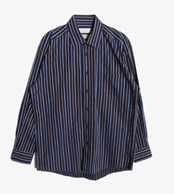 ST DUPONT - St 듀퐁 코튼 스트라이프 셔츠   Made In Italy  Man L / Color - Stripe